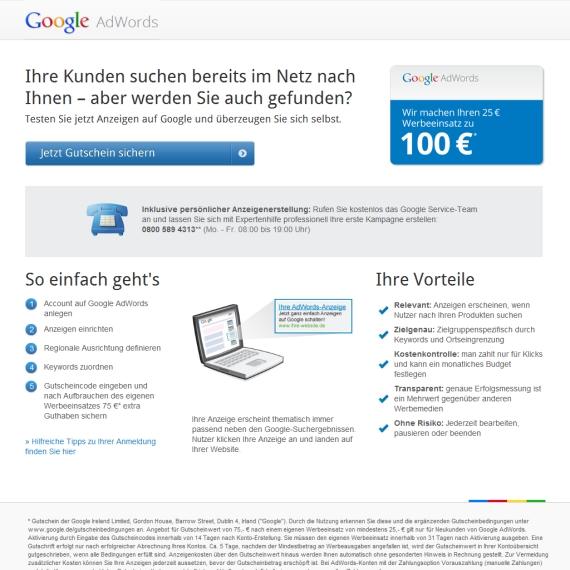 google gutscheincode kaufen