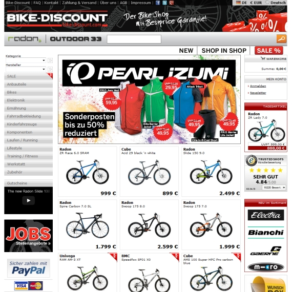 bike discount gutschein newsletter