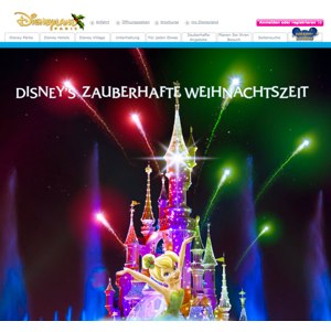 Ansicht vom DisneylandParis.com Shop