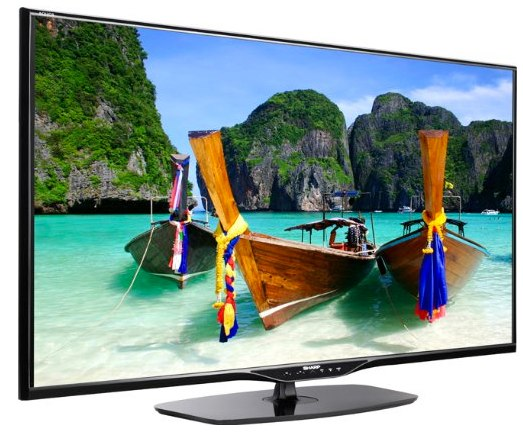Sharp LC39LE652E 3D TV Bild
